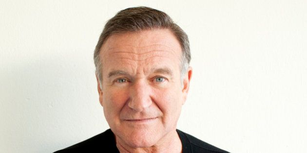 Actor Robin Williams poses for a portrait during the Happy Feet Press Junket in Beverly Hills, Calif....