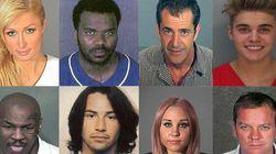 32 célébrités arrêtées pour conduite avec facultés