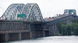 Pont Mercier: retour à la normale après un camion