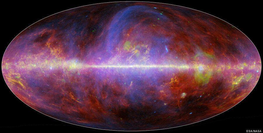 Voie lactée: la Nasa dévoile de superbes images de notre galaxie