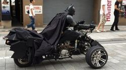 Un vrai Batman circule dans les rues japonaises