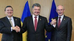 L'Ukraine scelle son rapprochement avec l'Union