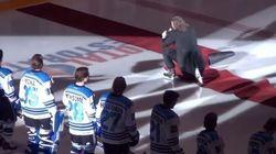 L'hymne national du Canada n'aura jamais été aussi