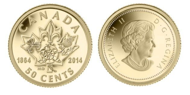 La Monnaie royale canadienne lance une pièce pour le 150e des conférences de Charlottetown et de
