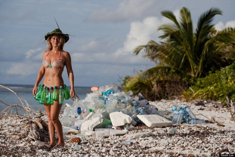 La pollution plastique aux Maldives dévoilée par une aventurière de la télé-réalité