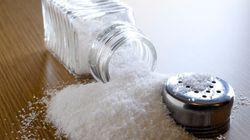 En matière de consommation de sel, «trop, c'est comme pas