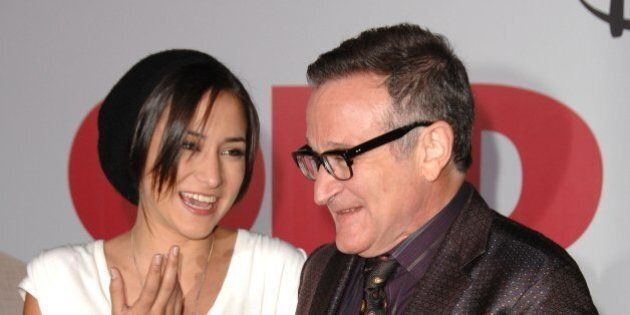 Robin Williams and Zelda Williams attends the 'Old Dogs' Premiere at the El Capitan Theatre on November...