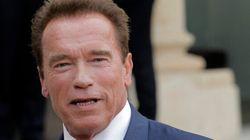 Schwarzenegger prononce un discours pour la lutte au réchauffement