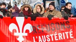 Le collectif «Refusons l'austérité»