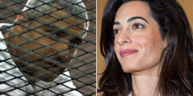 Égypte: Amal Clooney veut voir Sissi au sujet du journaliste détenu Mohamed