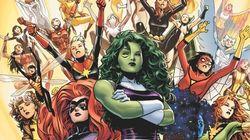 Marvel lance une équipe d'Avengers entièrement