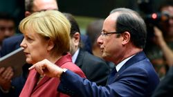Hollande et Merkel au Kremlin pour défendre la