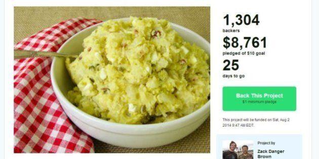 Kickstarter: des milliers de dollars pour... une salade de