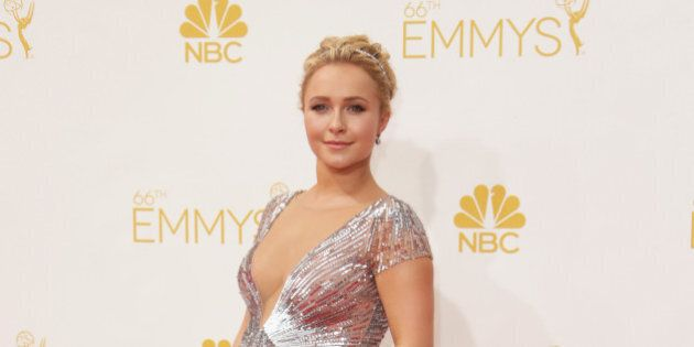 LOS ANGELES, CA - AUGUST 25:  Actress Hayden Panettiere attends the 66th Annual Primetime Emmy Awards held at Nokia Theatre L.A. Live on August 25, 2014 in Los Angeles, California.  (Photo by Jeff Vespa/WireImage)
