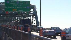 Fermeture du pont Champlain vers Montréal jusqu'à lundi
