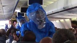 Voici pourquoi il ne faut pas faire de blague sur le virus Ebola à bord d'un avion