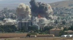 Syrie: nouvelles frappes près de Kobané, en