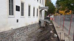 Des travaux majeurs s'amorcent au monastère des Ursulines