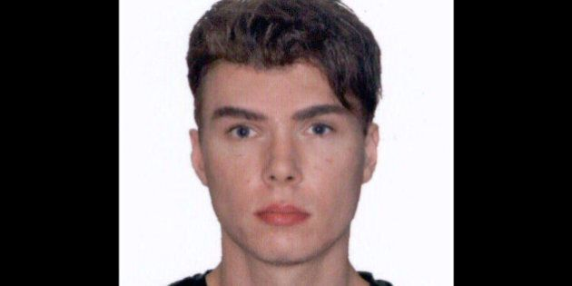FILE - This file image provided by Interpol shows an undated photo of Luka Rocco Magnotta. A preliminary hearing is set to start Monday, March 11, 2013, for Magnotta, a Canadian porn actor accused of dismembering his Chinese lover and mailing the body parts to political parties and schools. He pleaded not guilty in June to first-degree murder. (AP Photo/Interpol, File)
