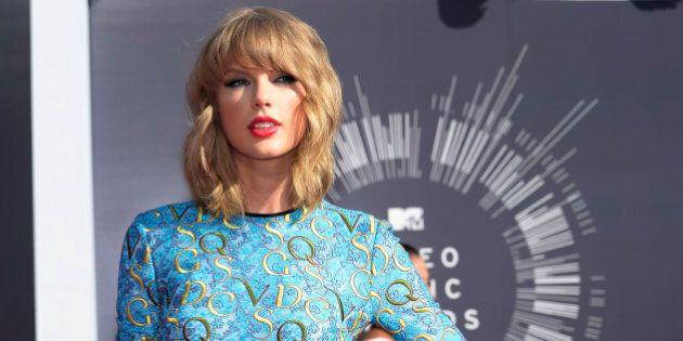 Taylor Swift a (encore) dansé toute seule lors de la cérémonie des