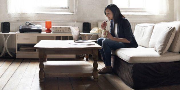 Travailler de la maison est aussi bénéfique pour vous que pour votre