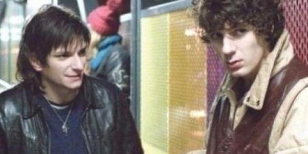Daft Punk personnages de film interprétés par Vincent Lacoste et Arnaud Azoulay dans «Eden» de Mia
