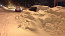 Les Maritimes ensevelies sous la neige: état d'urgence à