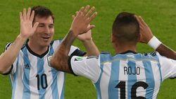 Messi et l'Argentine battent la