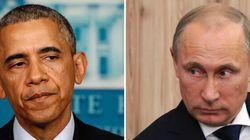 Poutine et Obama ont abordé le crash de l'avion malaisien