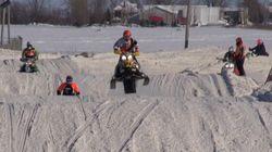 L'International snocross de Louiseville présenté à Trois-Rivières l'an