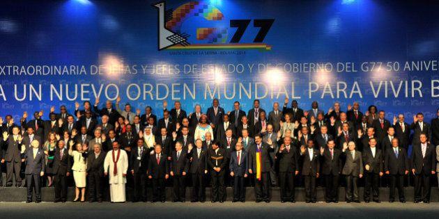 Santa Cruz: le Sommet du G77 appelle à éradiquer la pauvreté dans le monde d'ici