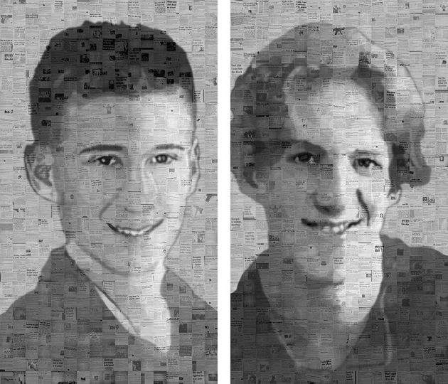 Tueries dans les écoles: les portraits des auteurs en coupures de journaux du monde entier
