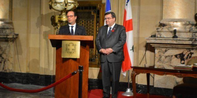 Denis Coderre effectue une mission en France: il rencontrera François