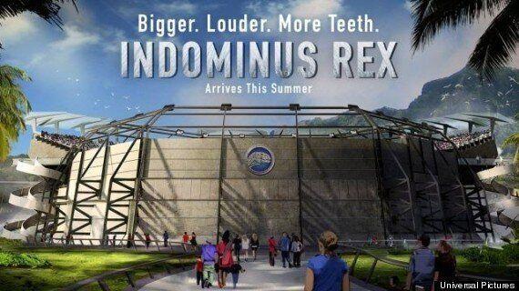 Le gros lézard de Jurassic World s'appelle Indominus Rex