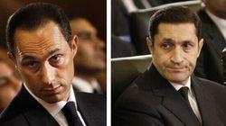 Égypte: deux fils de l'ex-président Moubarak libérés de