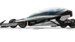 Le Motorail, une moto à 4RM électrique