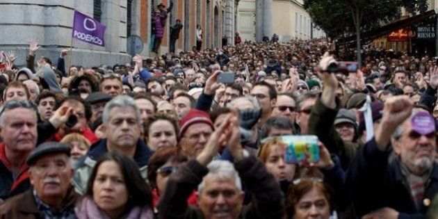 100 000 Espagnols manifestent contre