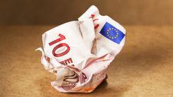 L'euro réagit défavorablement aux élections en