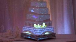 Un gâteau de mariage unique