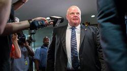 Toronto : l'hôtel de ville menacé d'explosion si Rob Ford ne démissionne