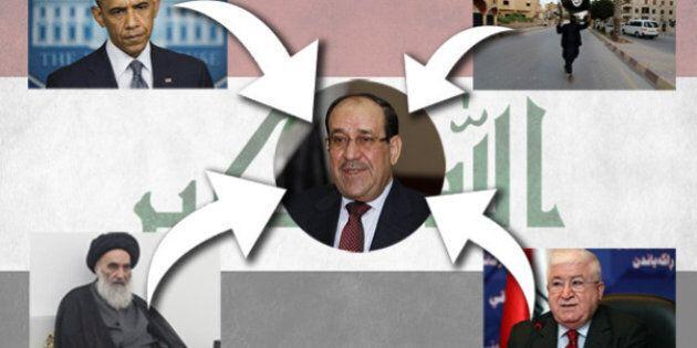 Irak: l'ex-premier ministre Nouri al-Maliki, l'homme que tout le monde souhaite éjecter du