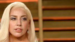 La chanteuse Lady Gaga s'arrête sur les Plaines