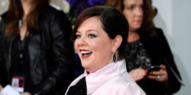 BEVERLY HILLS, CA - JANUARY 11: 72nd ANNUAL GOLDEN GLOBE AWARDS -- Pictured: Actress Melissa McCarthy...