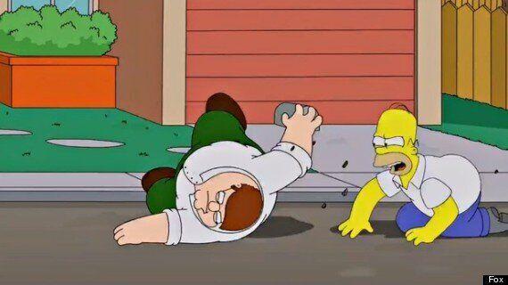 Un extrait de la rencontre entre Les Simpson et Les Griffin dévoilé