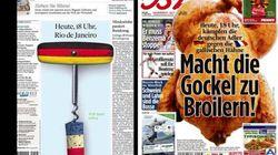 Coupe du Monde 2014: Les Unes provocantes des journaux