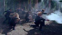 Harry Potter et Twilight s'affrontent dans un incroyable dance battle