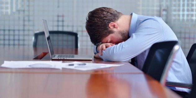 Environ le tiers des travailleurs canadiens souffrent ou auraient souffert d'anxiété ou de dépression,...