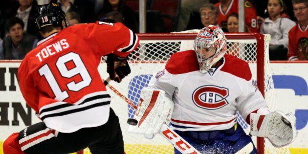 Le Canadien bat les Blackhawks 3 à 1 grâce à un fort match de Carey