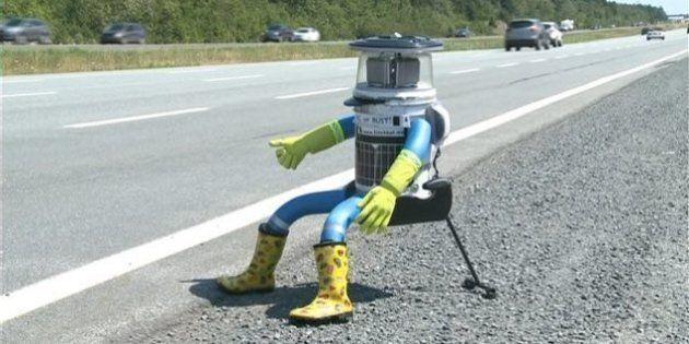 C'est parti pour le robot