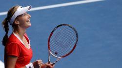 Ekaterina Makarova bat Simona Halep et va en